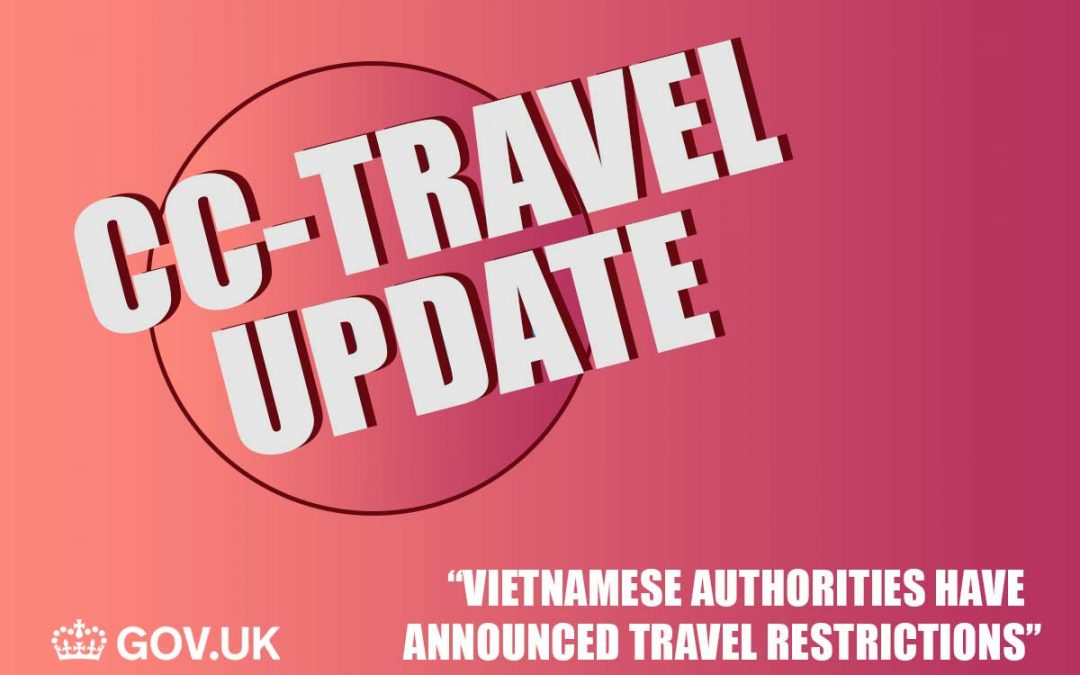 Coronavirus & Travel update for Vietnam by .GOV March 10th