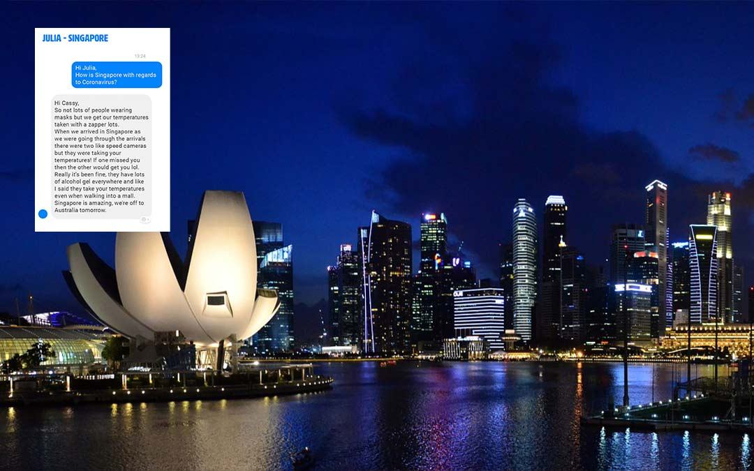 CC-Travel news coronavirus feedback Singapore